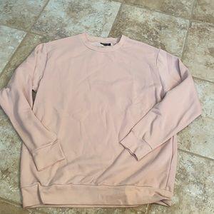 Topshop Oversized Crewneck Sweatshirt NWOT